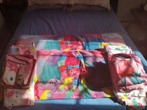 Twin girls bedding and body pillows for Sale in Glen Allen, VA