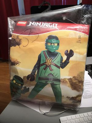NINJAGO,Deluxe Child costume- large (10-12) for Sale in Gaithersburg, MD