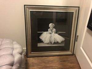 Framed Marilyn Monroe Photo Artwork for Sale in Seattle, WA