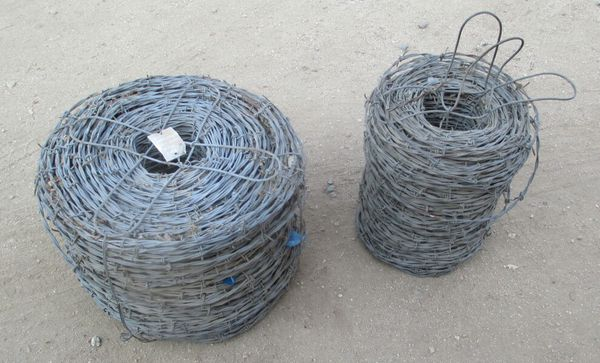 Huge Rolls of Vintage Barbed Wire Galvanized Barb Wire New (General ...