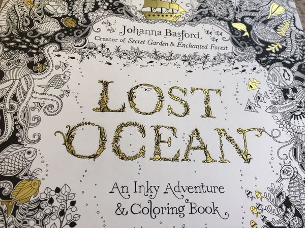 Coloring Books By Johanna Basford LOST OCEAN Enchanted Forest For Sale In Seattle WA