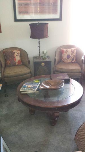 Pair of 1950s Baker Furniture Chairs for Sale in Atlanta, GA