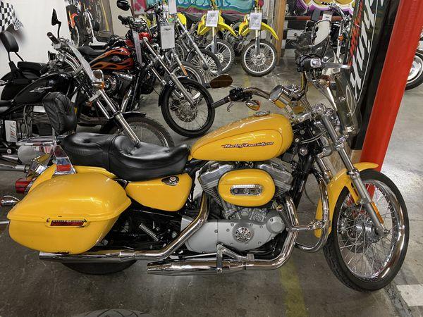 2005 harley davidson 883 custom