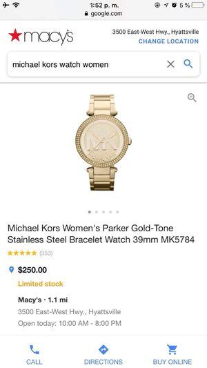 Michael Kors Women's Bracelet Watch for Sale in College Park, MD