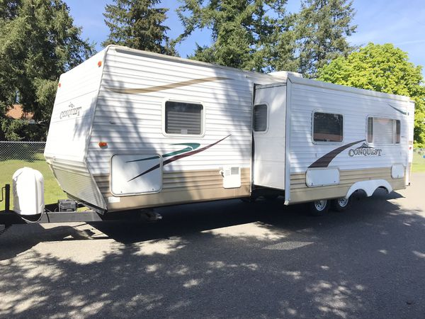 2006 298dbs Gulf Stream Conquest Travel Trailer With Super Slide For Sale In Graham  Wa