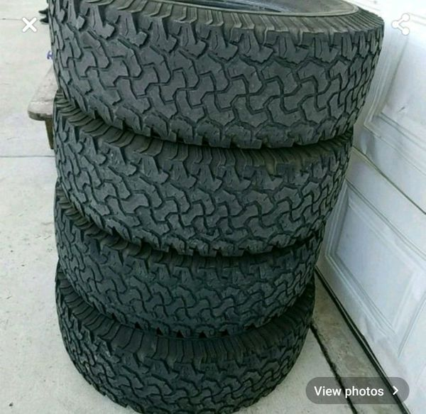 Set Of Used Tires For Sale In Beaumont, CA