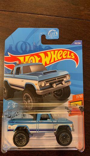 Photo Hot Wheels 70 Dodge Power Wagons