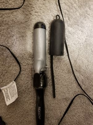Revlon curling iron with sheath for Sale in Tampa, FL