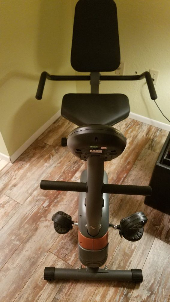 Marcy Resistance Recumbent Exercise Bike for Sale in Spring Hill, FL -  OfferUp