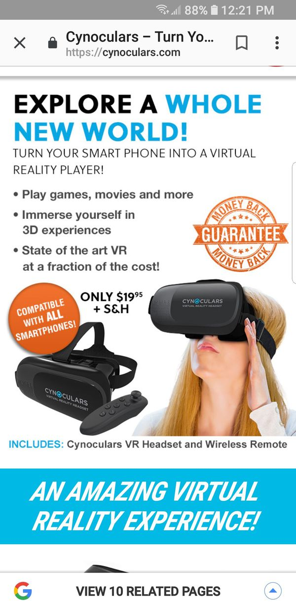 24d670ce16b9 Virtual reality for Sale in Los Angeles