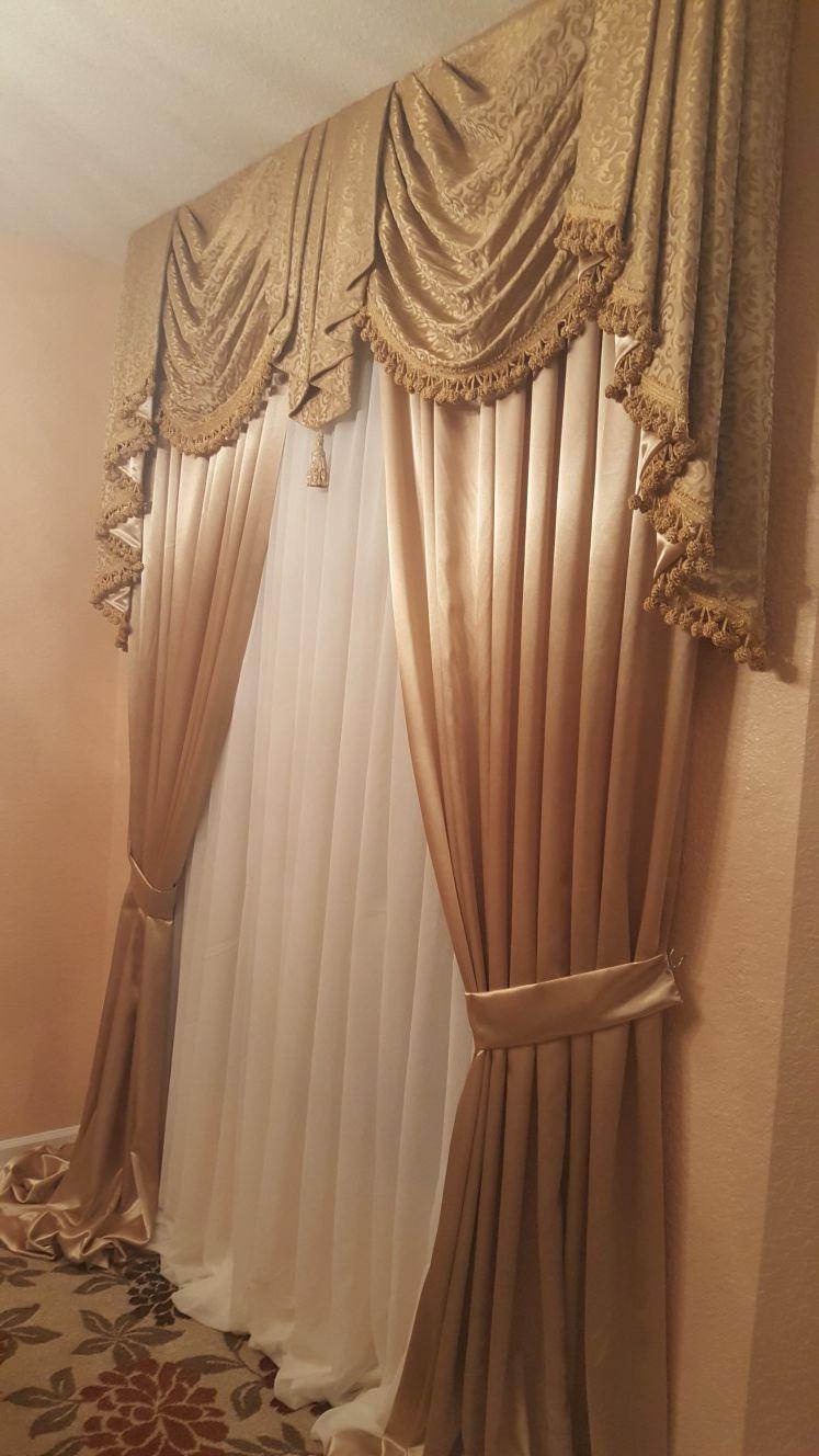 We make custom design draperies
