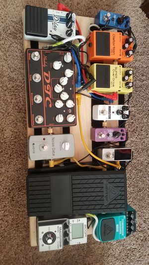 Electric Guitar complete Pedalbord for Sale in Frederick, MD