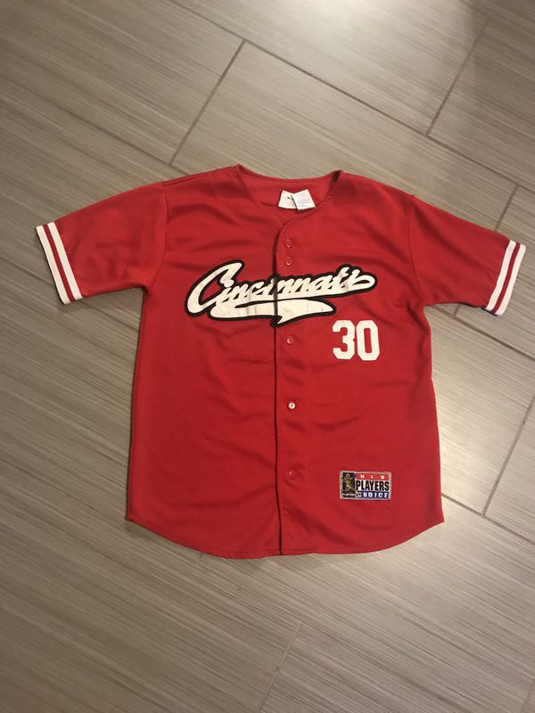 online store 195ca aed18 Cincinnati Reds Ken Griffey Jr #30 Athletic Stitched Vintage MLB Baseball  Jersey Size XL made in Bangladesh for Sale in Fort Lauderdale, FL - OfferUp