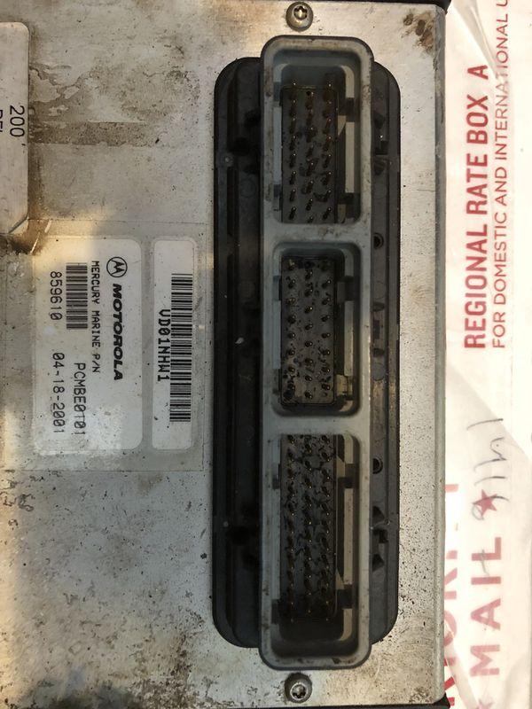 Mercury Optimax ECM #859610 72, 200HP, PCM12700784 for Sale in Orlando, FL  - OfferUp