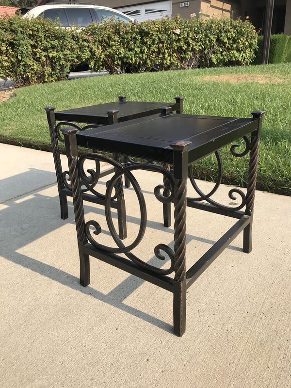 Black Rustic Side Tables For Sale In Bakersfield Ca Offerup
