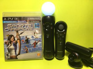 PlayStation PS3 PS4 Move Motion VR Controller Bundle...L👀K! for Sale in Grand Prairie, TX