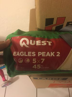 Tent Quest Eagle Peak 2 for Sale in Miami, FL