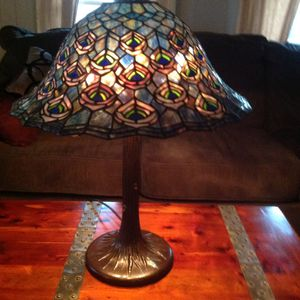 Tiffany lamp,meyda ,peacock,Antique for Sale in Jim Thorpe, PA