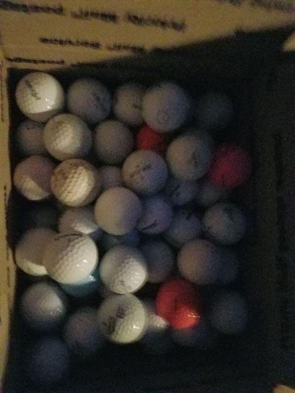 Assorted Used Golf Balls No Range Balls For Sale In Bellevue Wa