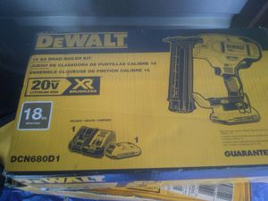 Brand new DeWalt 20v Bruselas Finishing nail gun for Sale in Baltimore, MD
