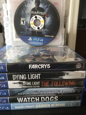 PS4 games for Sale in Germantown, MD
