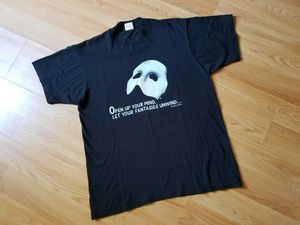 Vintage Phantom of The Opera Tee T-shirt for Sale in Washington, DC
