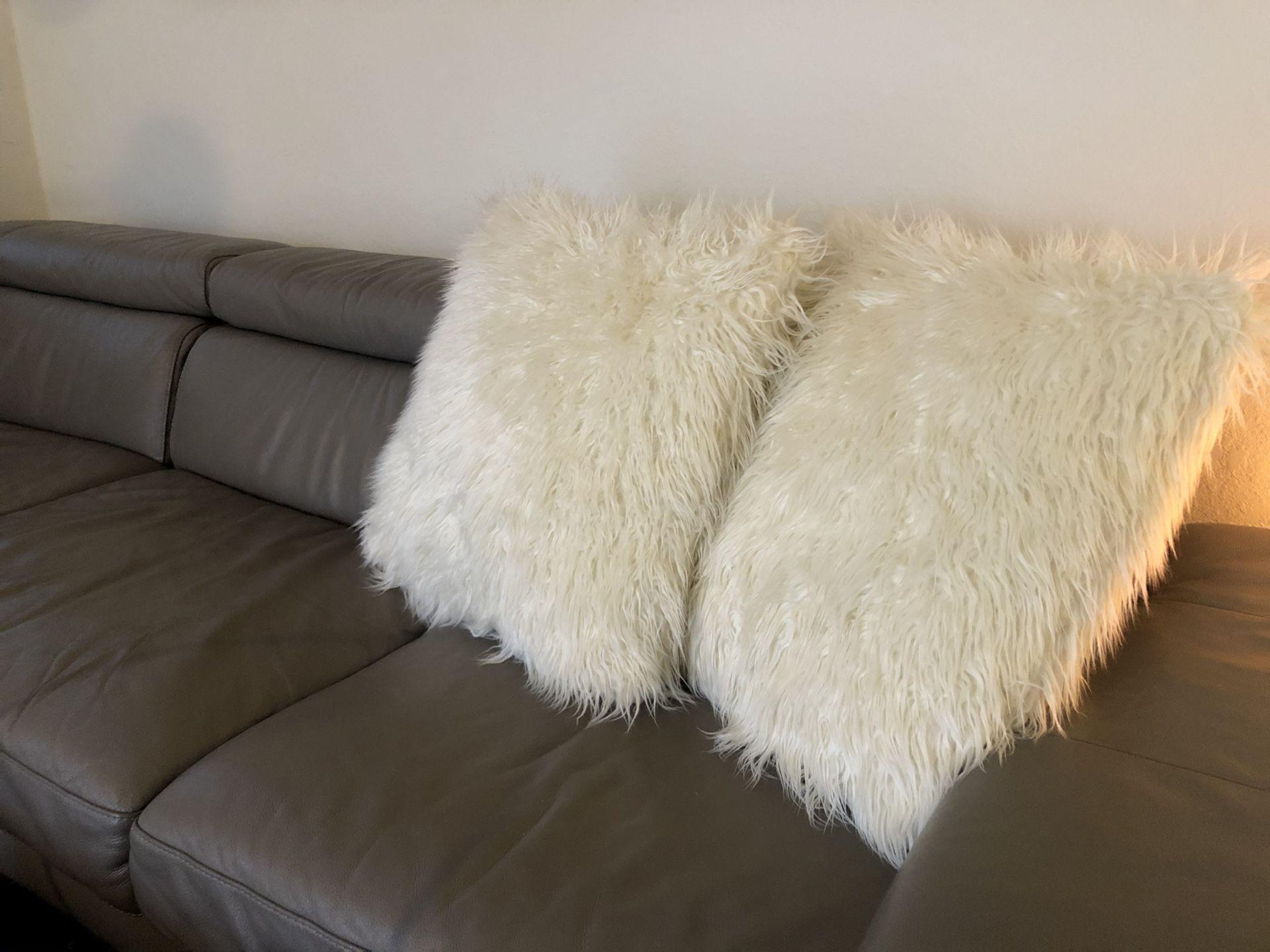 Modern decor pillows