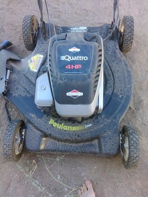 Briggs Stratton Quattro 4hp Lawn Mower 160 Firm Must Pick