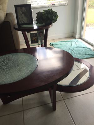 3 tables for Sale in Weston, FL