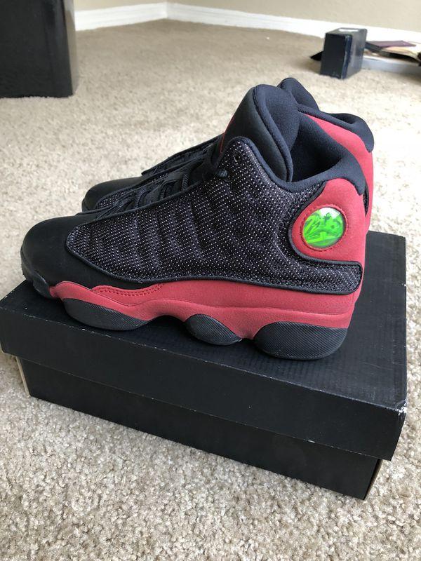 "check out d2ecf 3cf89 Kid s Air Jordan 13 ""Bred"" Size 4.5Y"