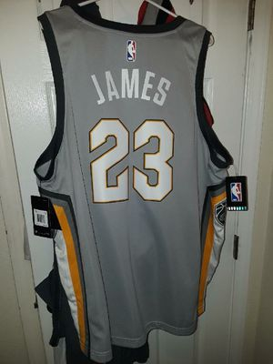 Authentic Lebron james city edtion jersey size 2XL for Sale in Detroit, MI
