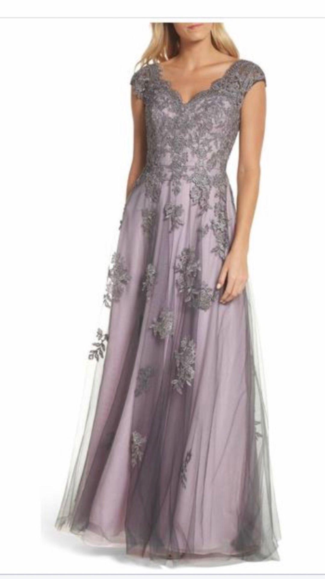 La femme Evening Dress Size 14