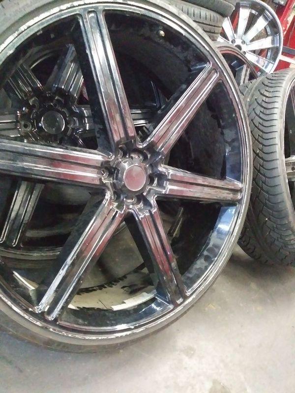 30 Inch Rims 6 Lug For Sale In Dallas Tx Offerup