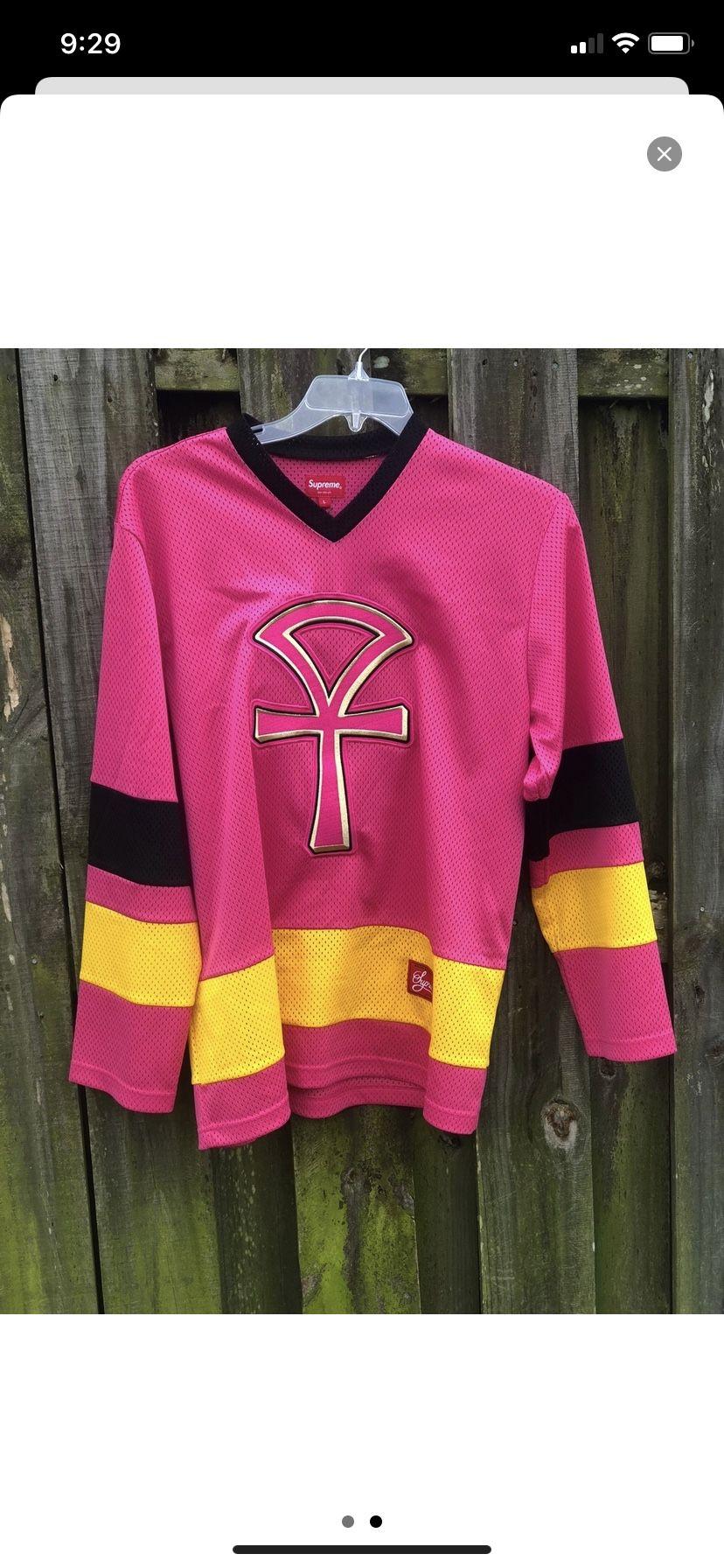 Supreme hockey jersey size xl