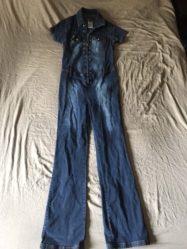 d4b9deff626 Retro denim jumpsuit Revolt M stretch one Piece for Sale in Tempe ...
