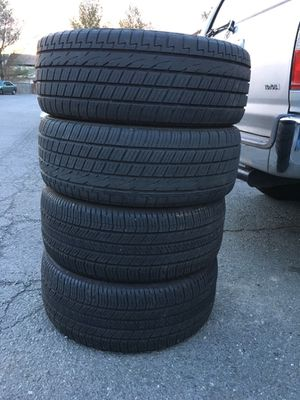 Have vary good Used Tire 4 Pair 235/55/R18 All is $120 for Sale in Leesburg, VA