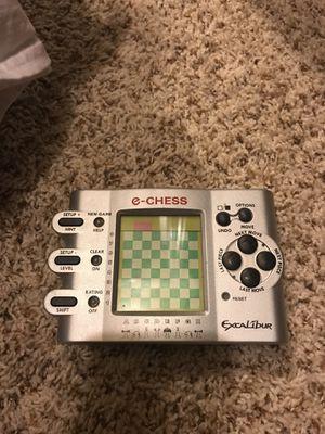 Excalibur E-Chess handheld game for sale  Broken Arrow, OK