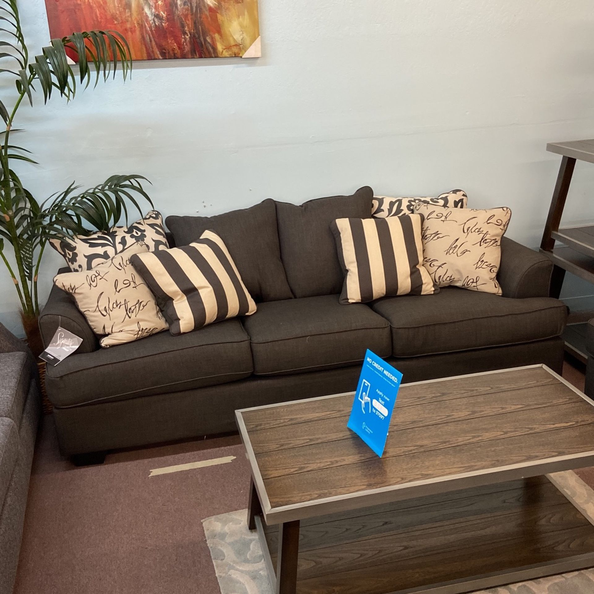 ✨ 2pcs Sofa And Loveseat Set