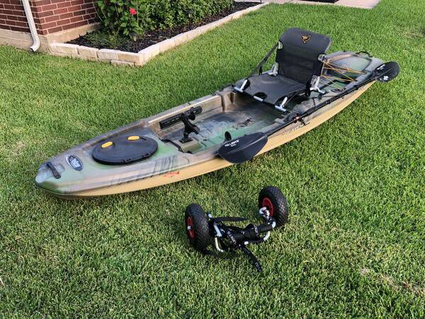 Pelican Catch 120 fishing kayak for Sale in Conroe, TX - OfferUp