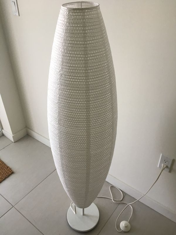Ikea Sollefte 197 Floor Lamp With Led Bulb Oval White For