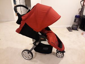 Britax B agile stroller red color used for Sale in Calverton, MD