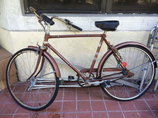 Ross Europa Iii Bicycle 3 Speed Bike Old Antique Bike For