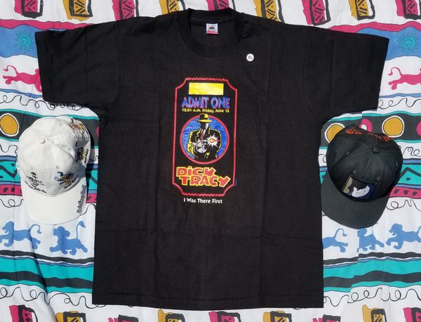 Dick tracy vintage Disney shirt brand new deadstock for Sale in Apple  Valley, CA - OfferUp
