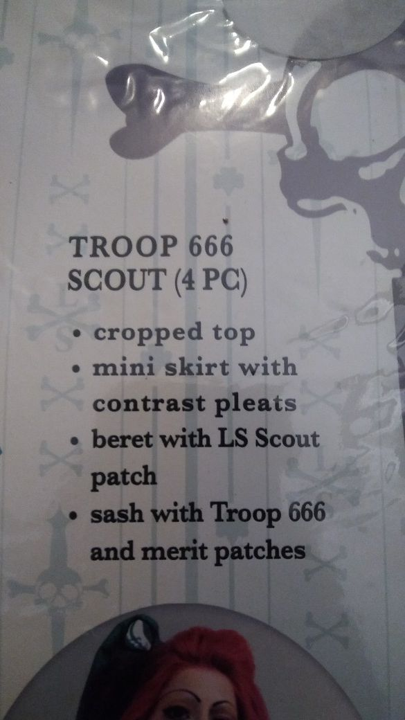 Scout 666 halloween costumes.