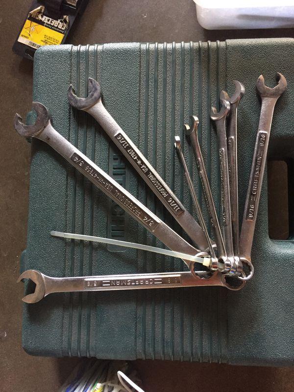 Vintage Craftsman Speed Combination Wrench Set