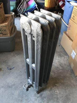 Tall steel radiator accent piece for Sale in Apex, NC