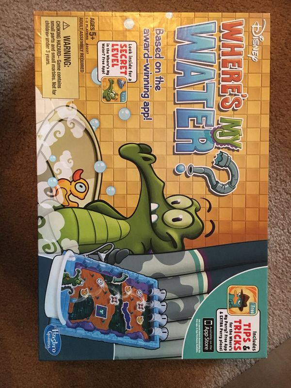 Wheres My Water Board Game For Sale In Manteca Ca Offerup