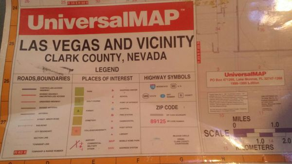 Map for Sale in Las Vegas NV ferUp