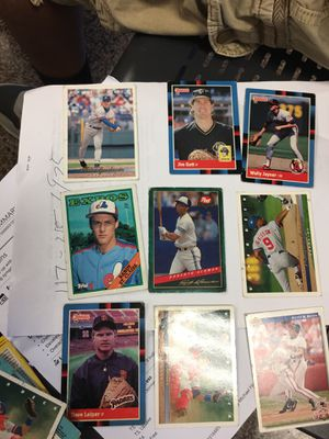New And Used Baseball Cards For Sale In Hamilton Township