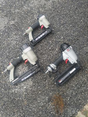 Air compressor and nail guns for Sale in Lanham, MD